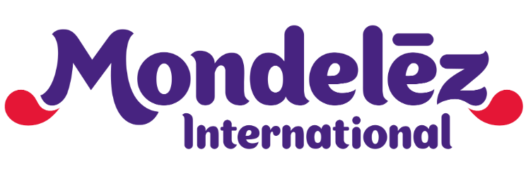 This is the logo of the company Mondelez