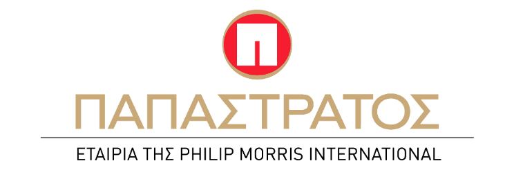 This is the logo of the company Papastratos