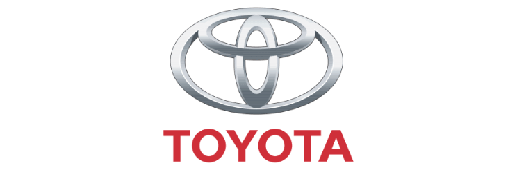 This is the logo of the company Toyota